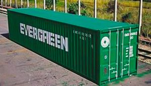 40' Steel Dry Cargo Container
