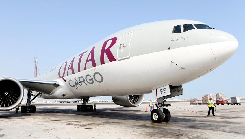 Green Ibérica QATAR Airways Cargo