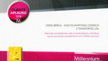 Aplausos Para a Green Ibérica – Empresa Aplauso 2018