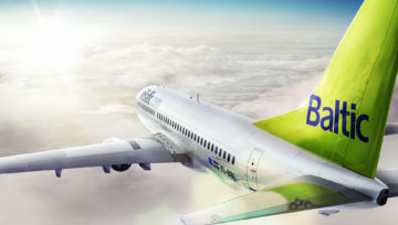 Right on Time. airBaltic is Green Ibérica's New Represented Airline
