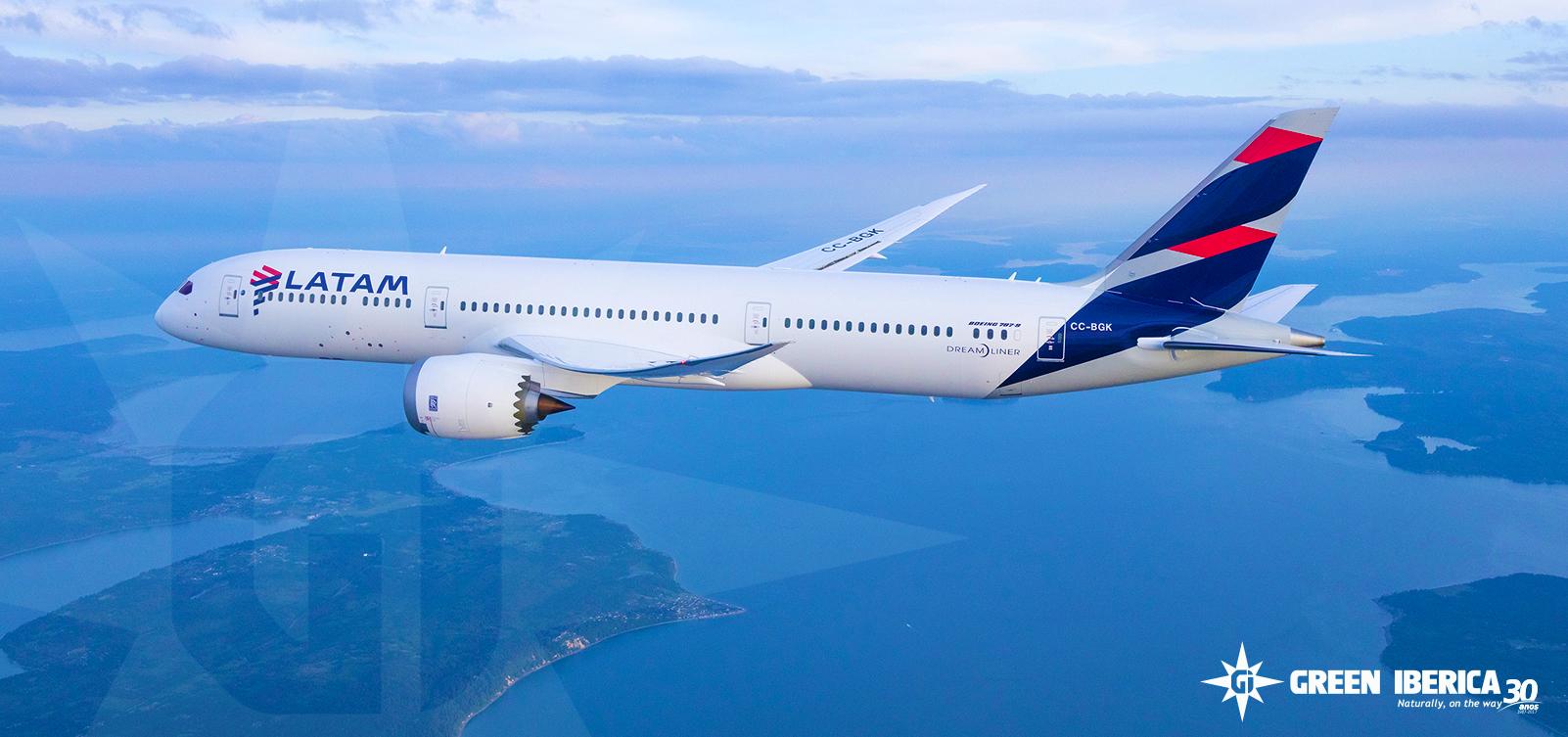 LATAM Cargo - Boeing 787 Dreamliner