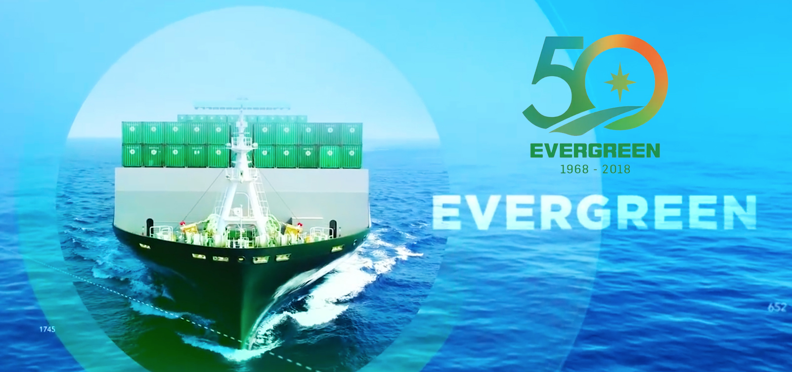 50 years Evergreen
