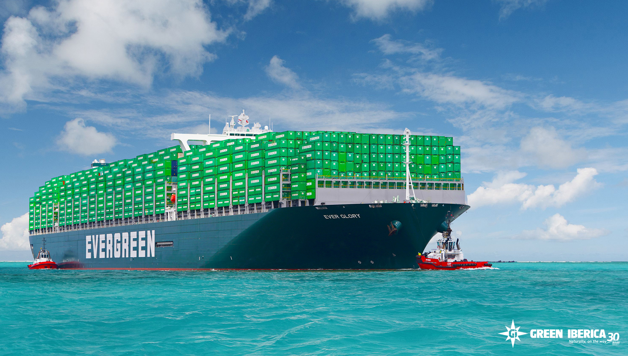 Ever Glory Ship, Evergreen, Green Ibérica