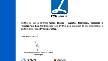 A Green Ibérica é PME Líder 2020